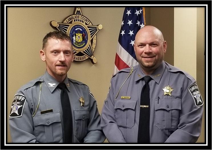 Sheriff Westen and Chief Deputy Schunke