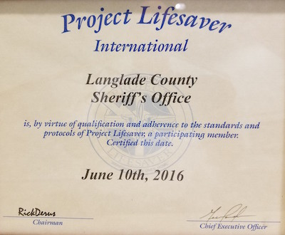 Project Lifesaver Certification